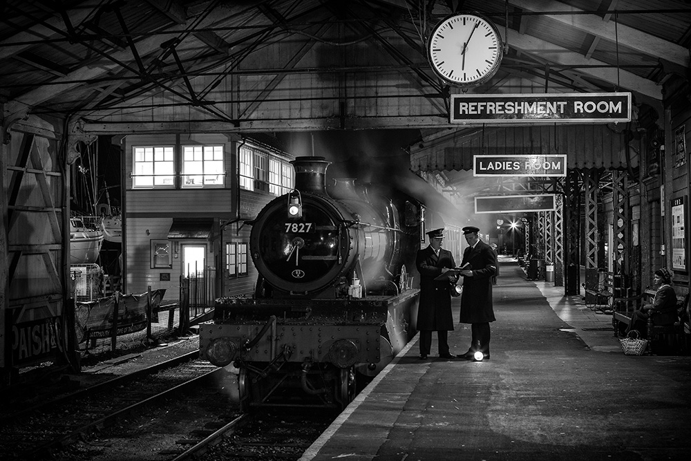 'Night at the Station' by Steven Reid
